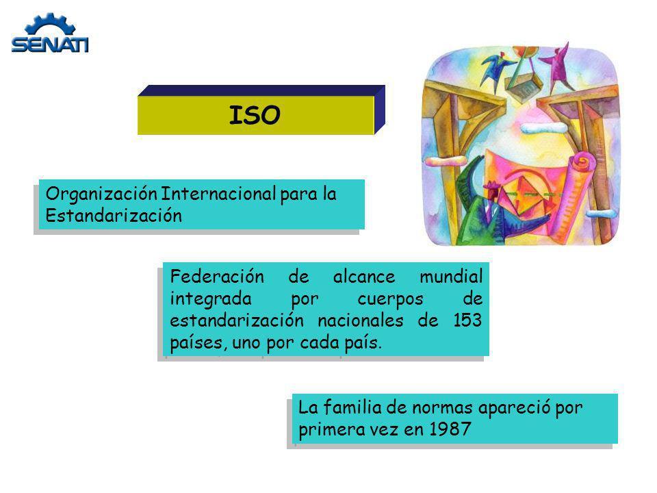 ISO Organización Internacional para la Estandarización