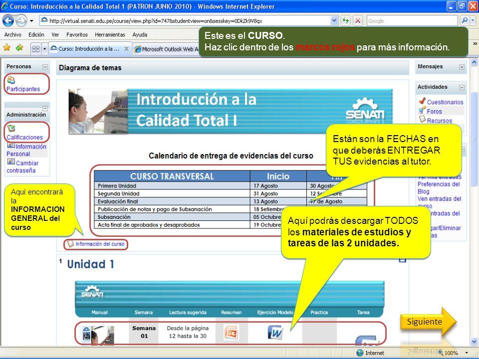 Haz clic dentro de los marcos rojos para más información.