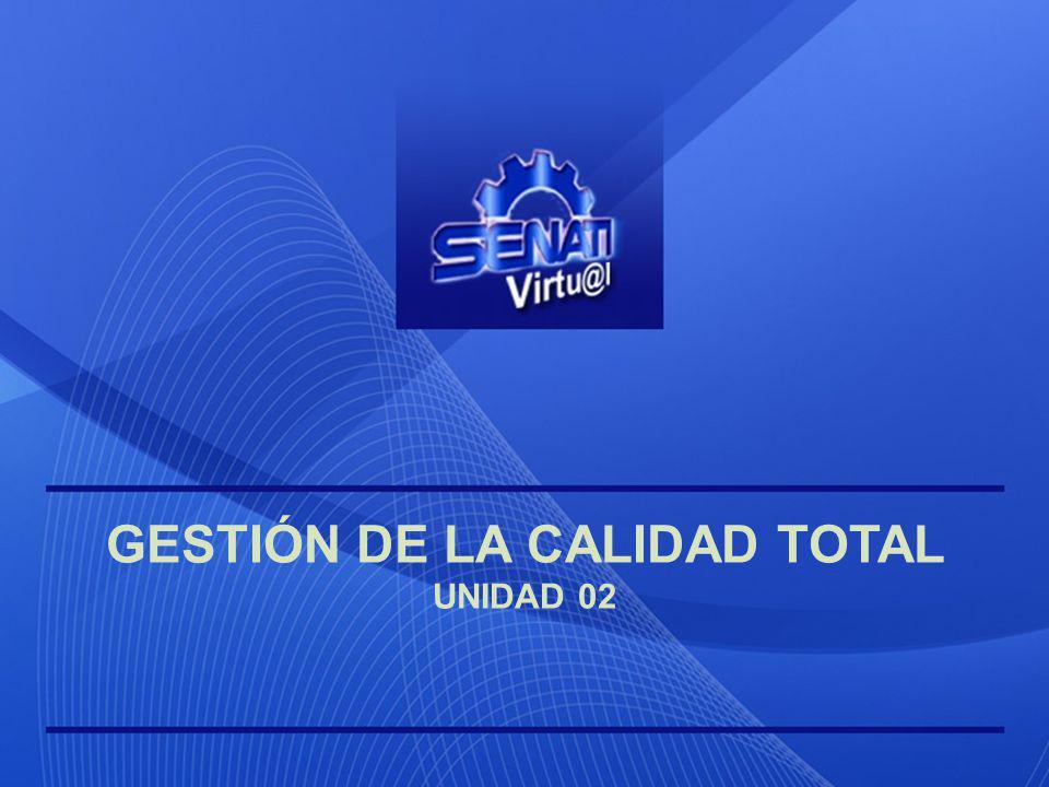 GESTIÓN DE LA CALIDAD TOTAL Unidad 02