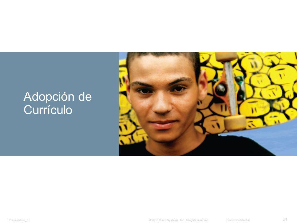 Adopción de Currículo Subtitle 34 Presentation_ID
