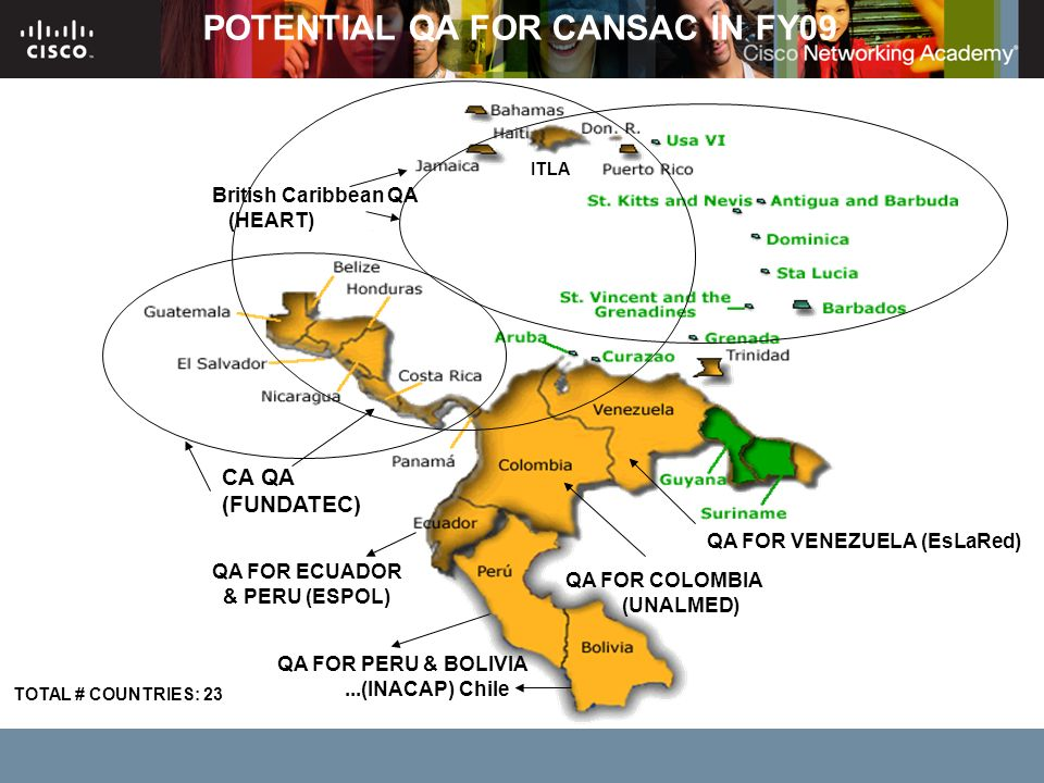 POTENTIAL QA FOR CANSAC IN FY09
