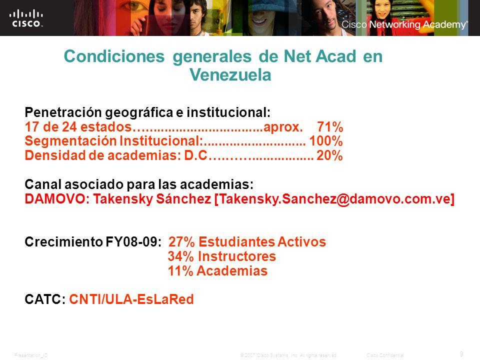 Condiciones generales de Net Acad en