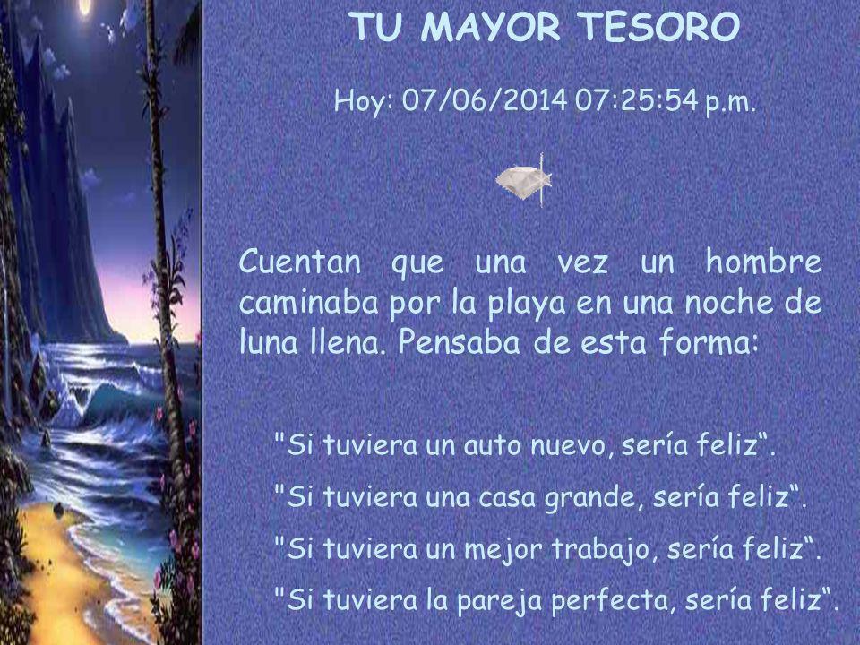 TU MAYOR TESORO Hoy: 01/04/2017 11:20:54 a.m.