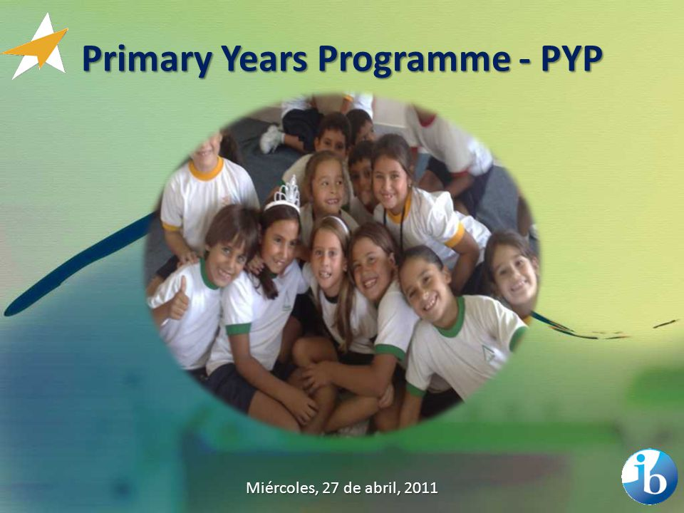 Primary Years Programme - PYP