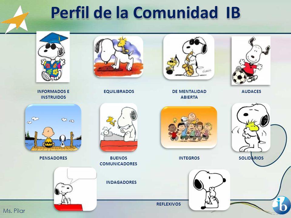 Perfil de la Comunidad IB INFORMADOS E INSTRUIDOS