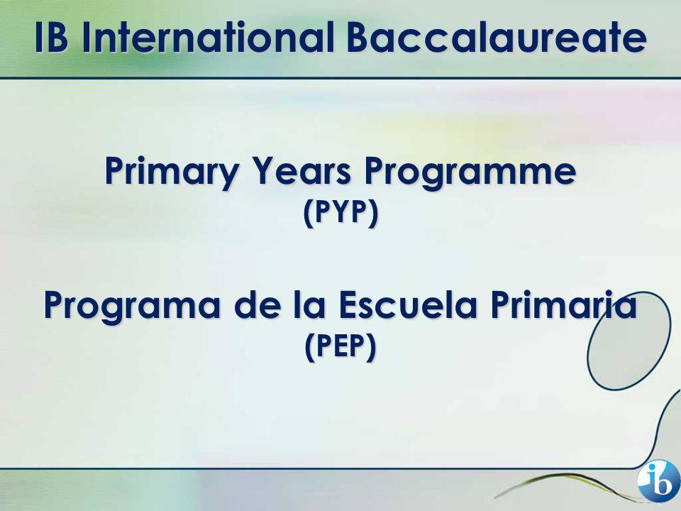 IB International Baccalaureate