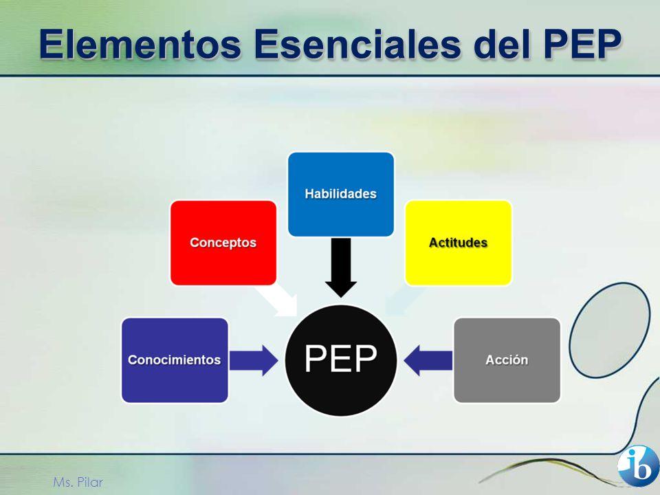 Elementos Esenciales del PEP