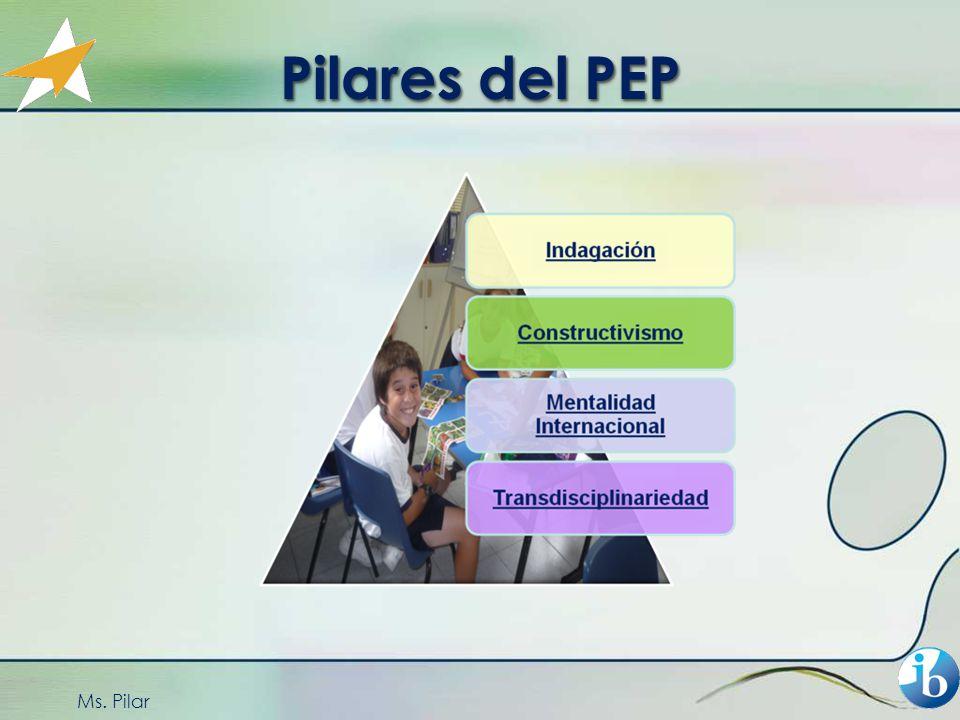 Pilares del PEP Ms. Pilar