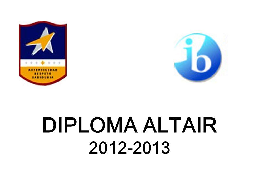 DIPLOMA ALTAIR 2012-2013