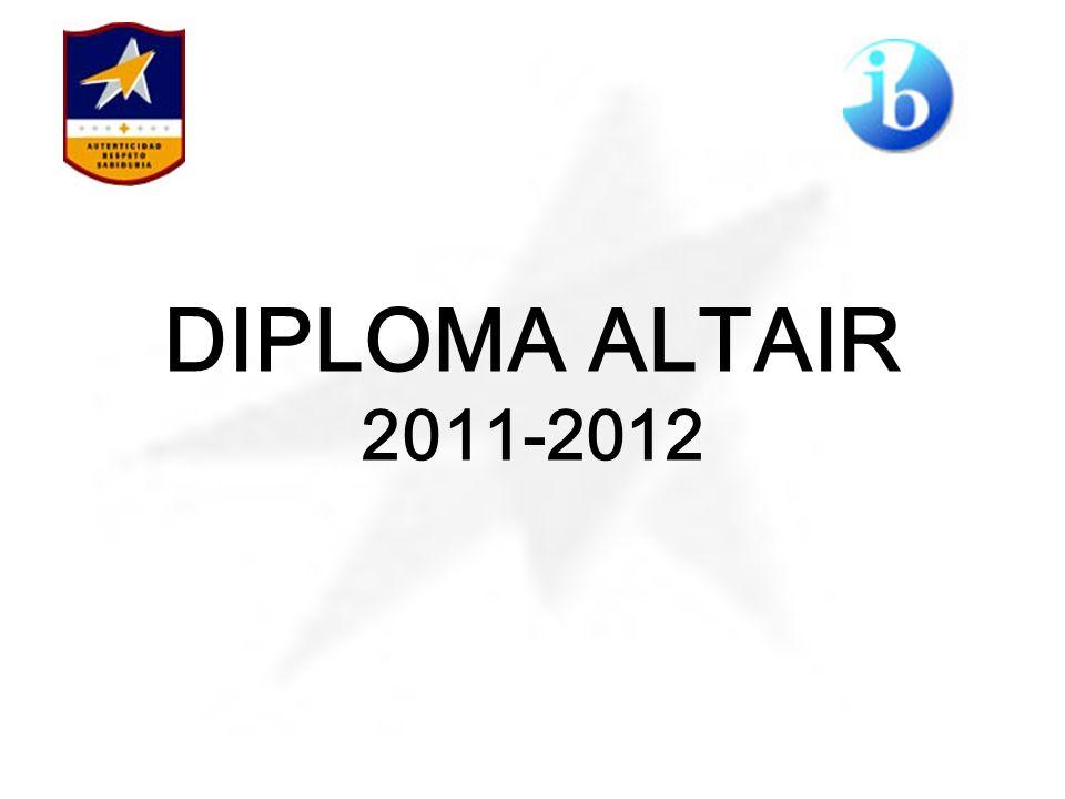 DIPLOMA ALTAIR 2011-2012