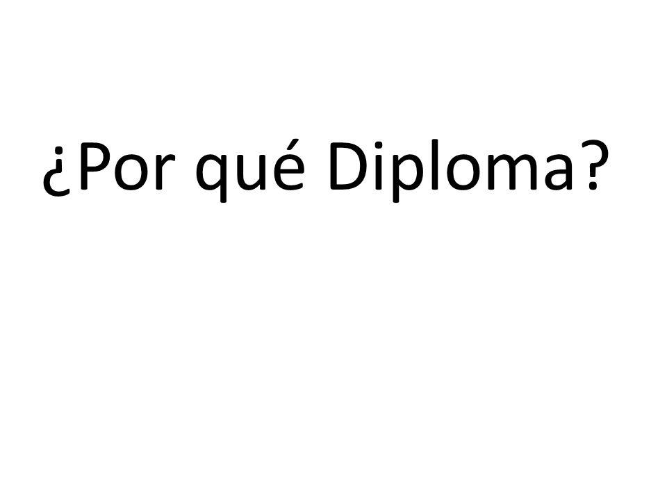 ¿Por qué Diploma