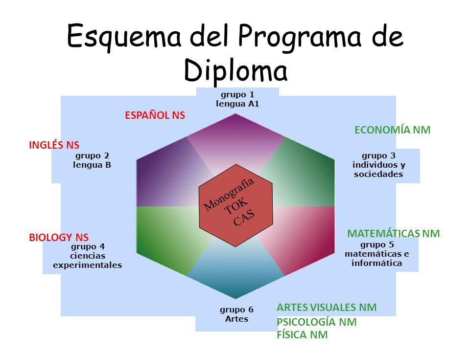 Esquema del Programa de Diploma