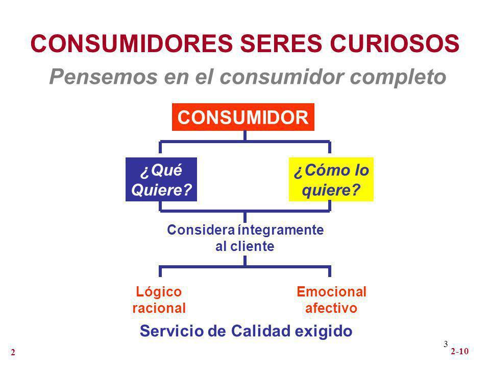 CONSUMIDORES SERES CURIOSOS