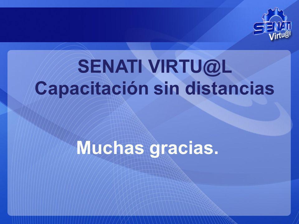 SENATI VIRTU@L Capacitación sin distancias