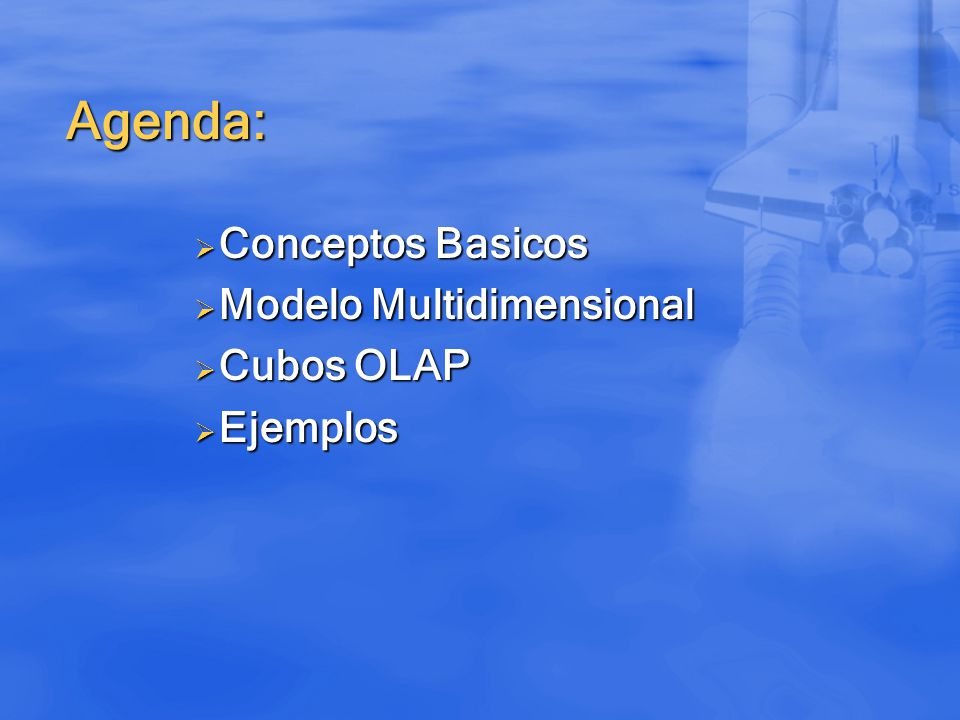 Conceptos Basicos Modelo Multidimensional Cubos OLAP Ejemplos