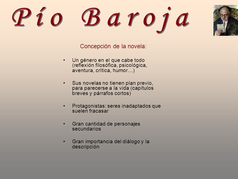 Concepción de la novela: