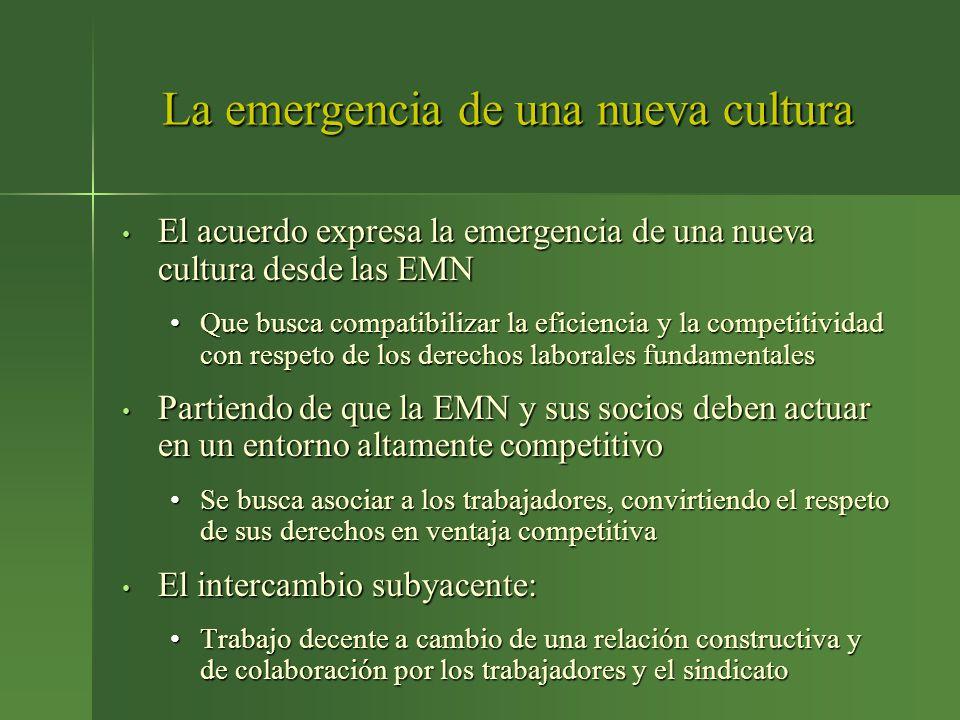 La emergencia de una nueva cultura
