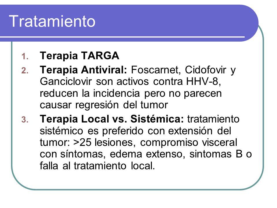 Tratamiento Terapia TARGA