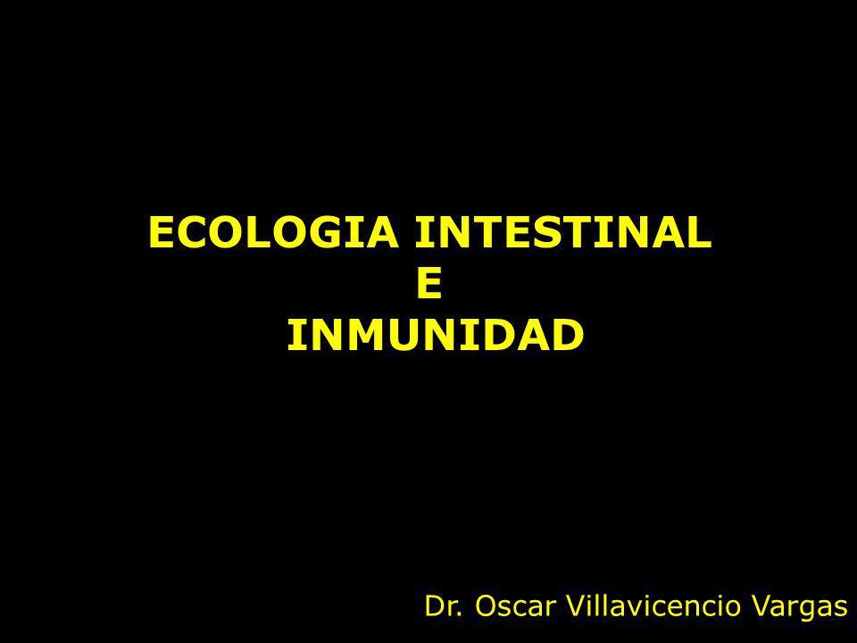 ECOLOGIA INTESTINAL E INMUNIDAD