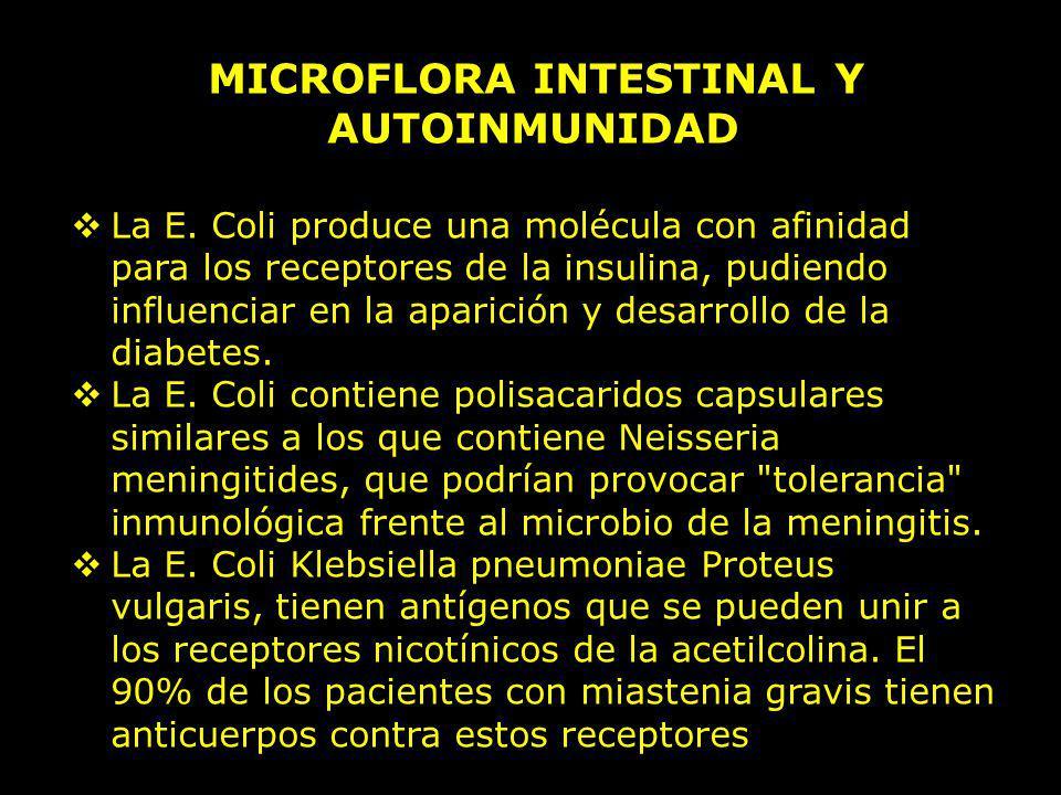 MICROFLORA INTESTINAL Y