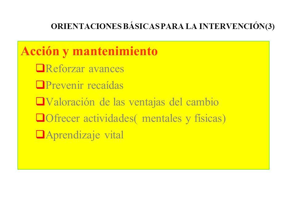 ORIENTACIONES BÁSICAS PARA LA INTERVENCIÓN(3)