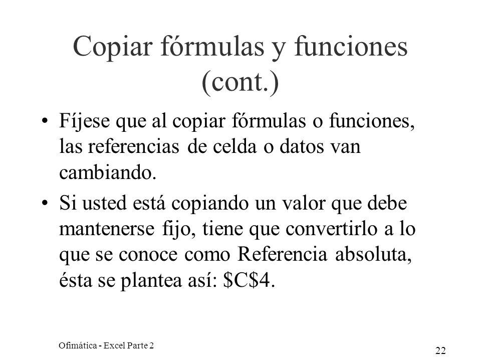 Copiar fórmulas y funciones (cont.)
