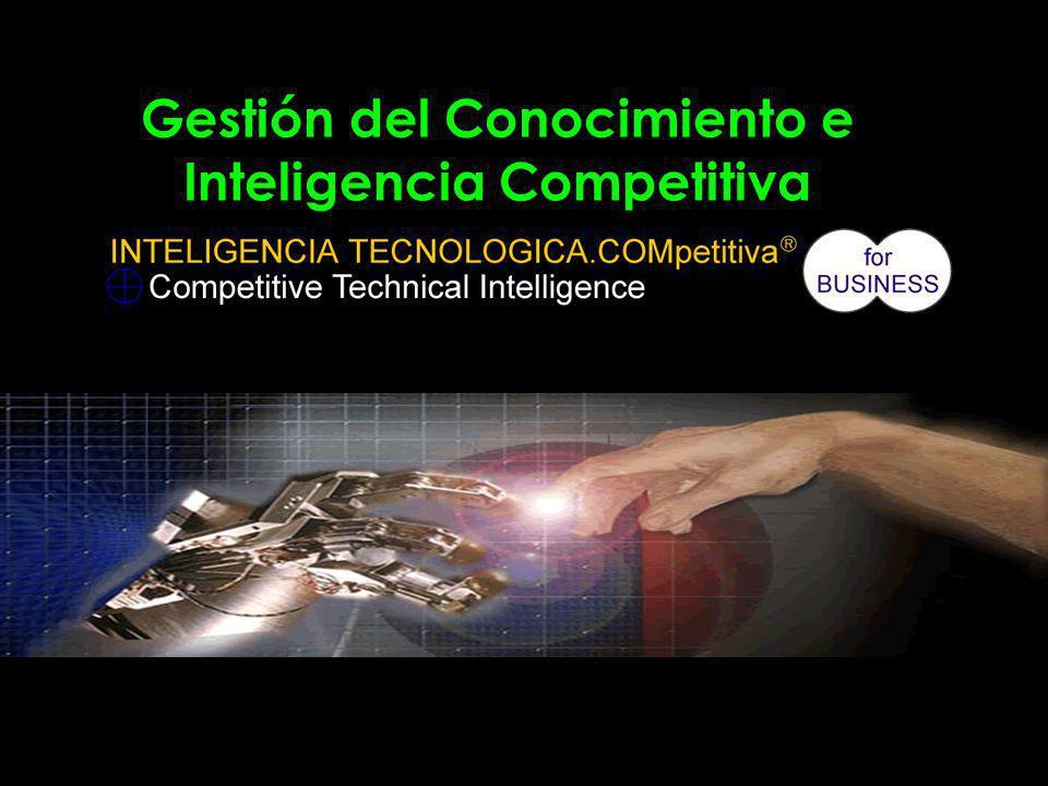 Gestión del Conocimiento e Inteligencia Competitiva