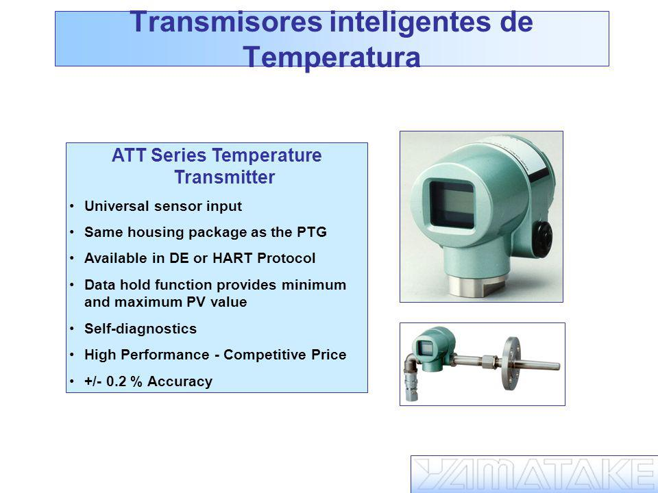 Transmisores inteligentes de Temperatura