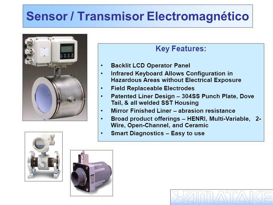Sensor / Transmisor Electromagnético