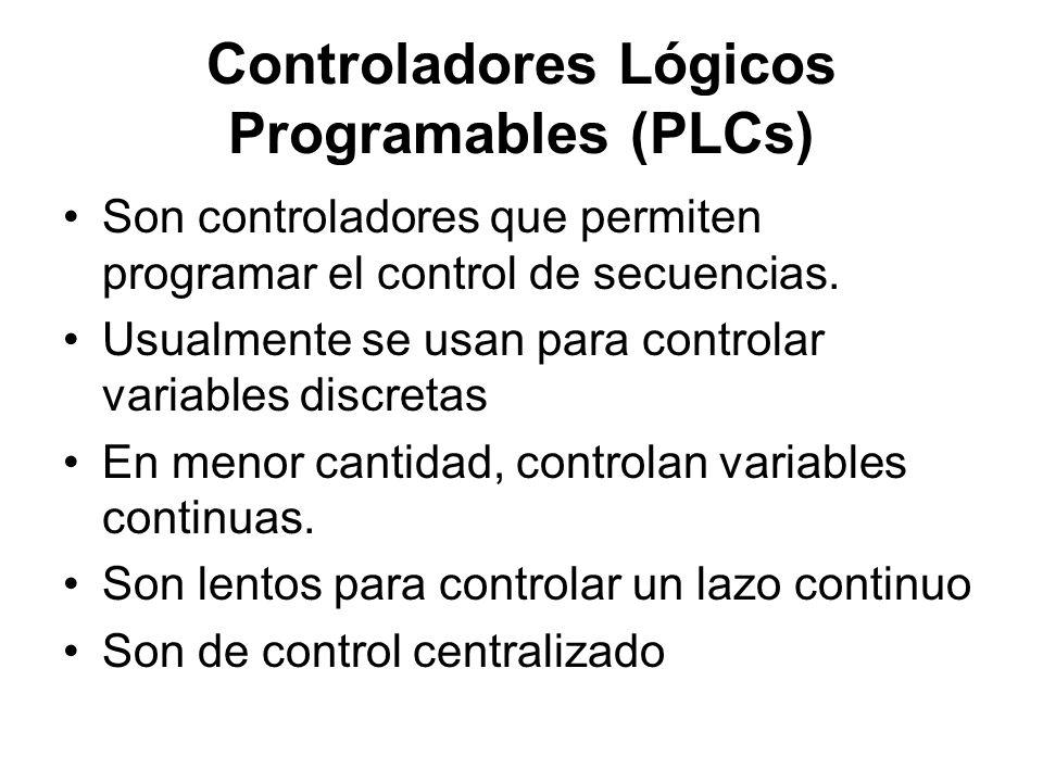 Controladores Lógicos Programables (PLCs)