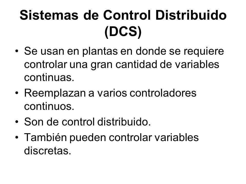 Sistemas de Control Distribuido (DCS)