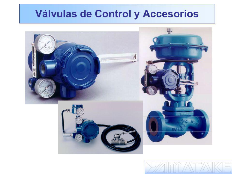Válvulas de Control y Accesorios