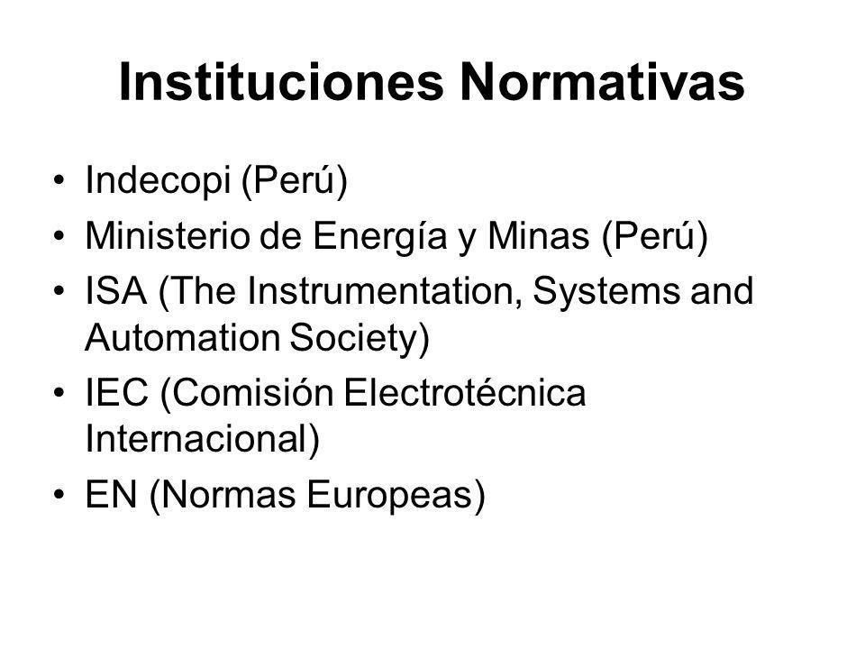 Instituciones Normativas