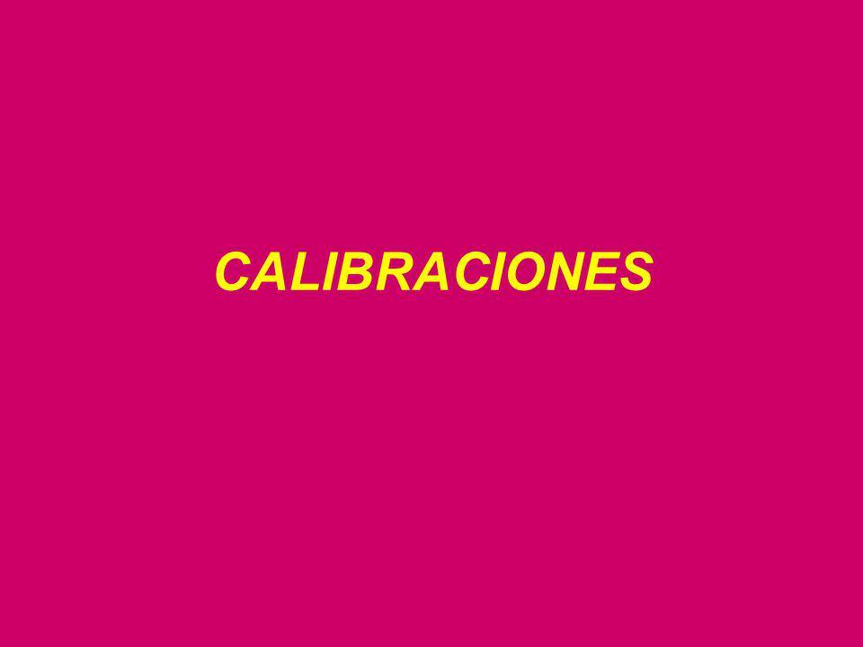 CALIBRACIONES