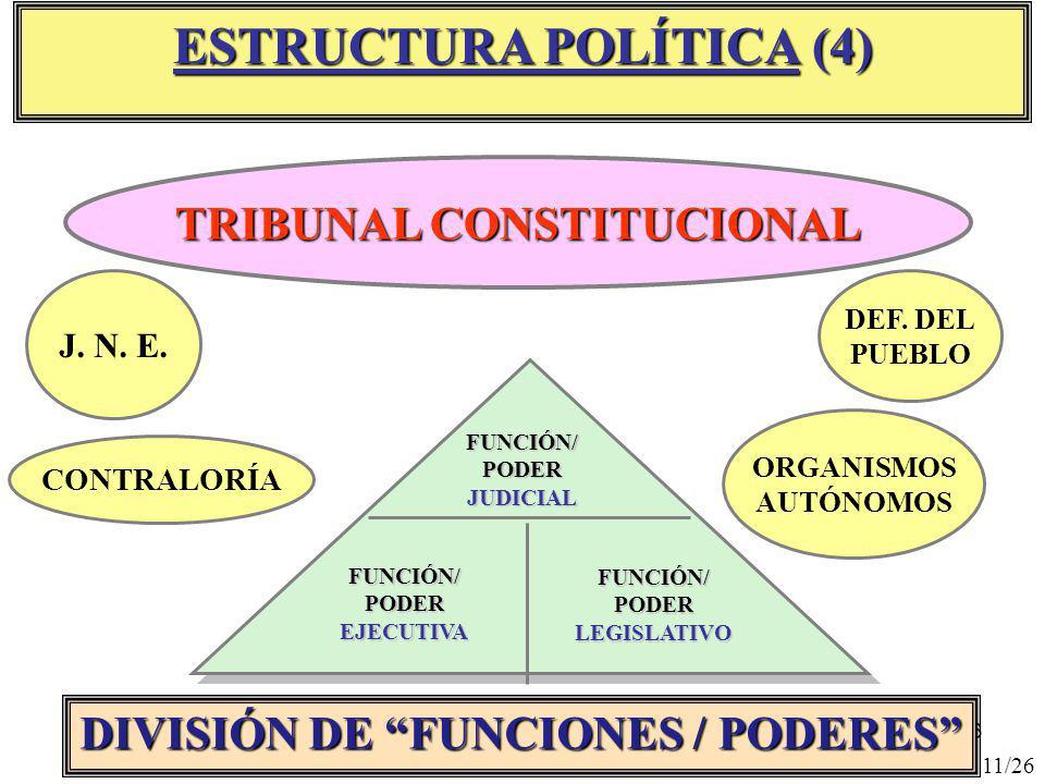 ESTRUCTURA POLÍTICA (4)