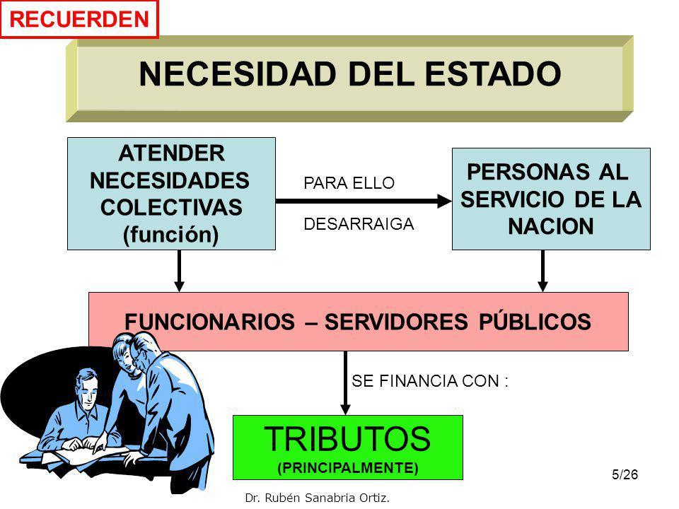FUNCIONARIOS – SERVIDORES PÚBLICOS