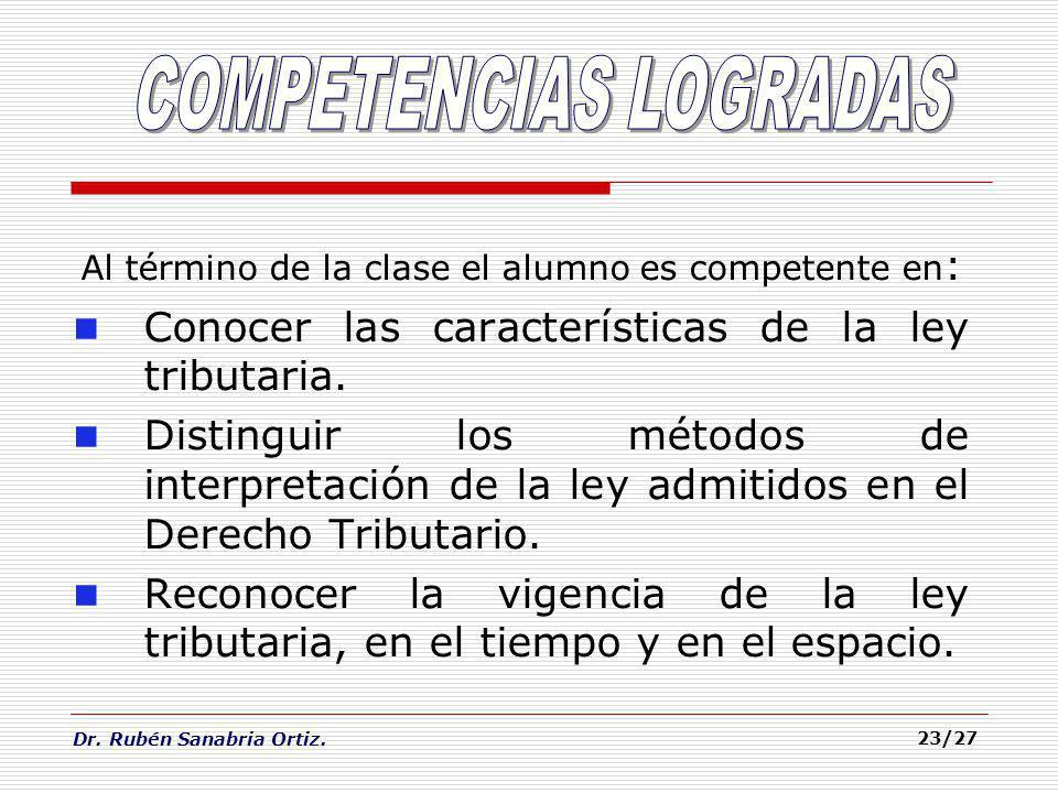 COMPETENCIAS LOGRADAS