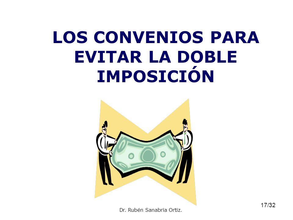 LOS CONVENIOS PARA EVITAR LA DOBLE IMPOSICIÓN