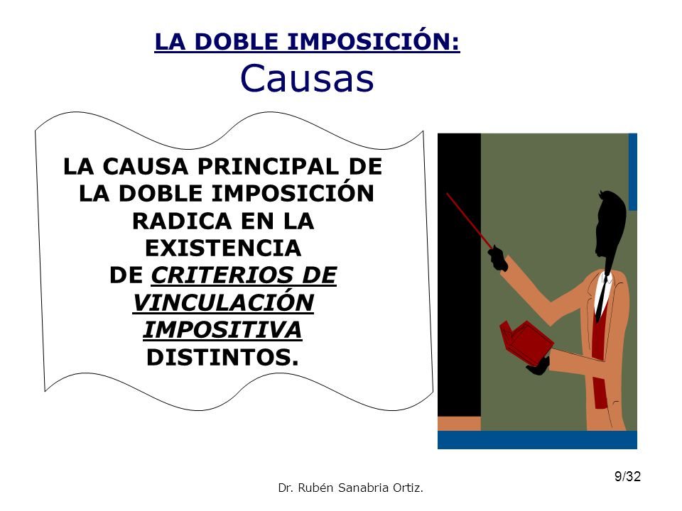 LA DOBLE IMPOSICIÓN: Causas