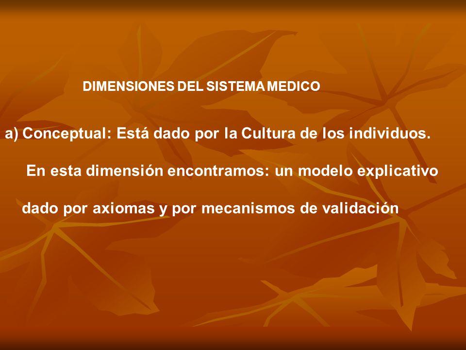 Conceptual: Está dado por la Cultura de los individuos.