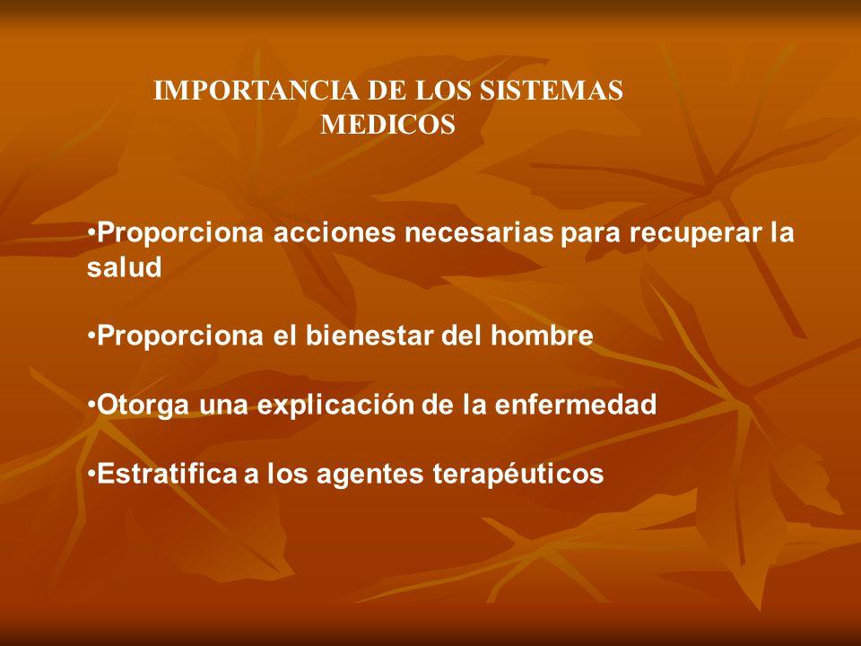 IMPORTANCIA DE LOS SISTEMAS MEDICOS