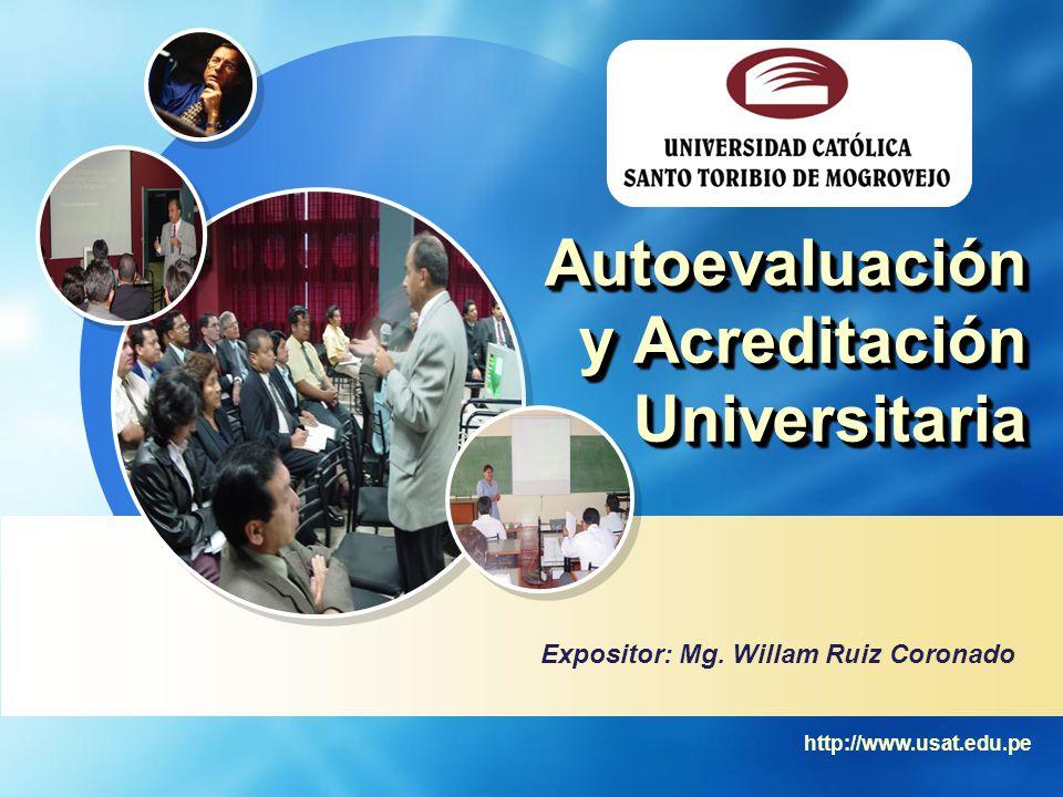 Autoevaluación y Acreditación Universitaria