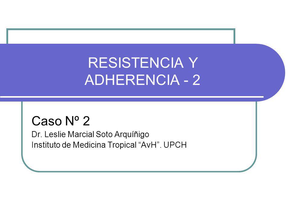RESISTENCIA Y ADHERENCIA - 2