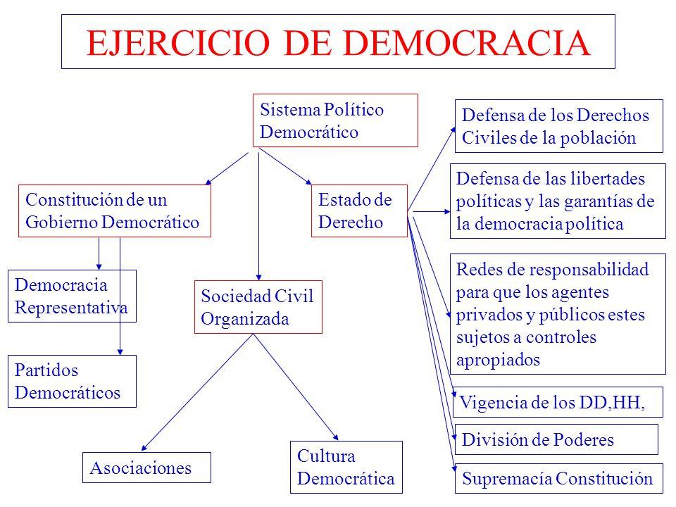 EJERCICIO DE DEMOCRACIA