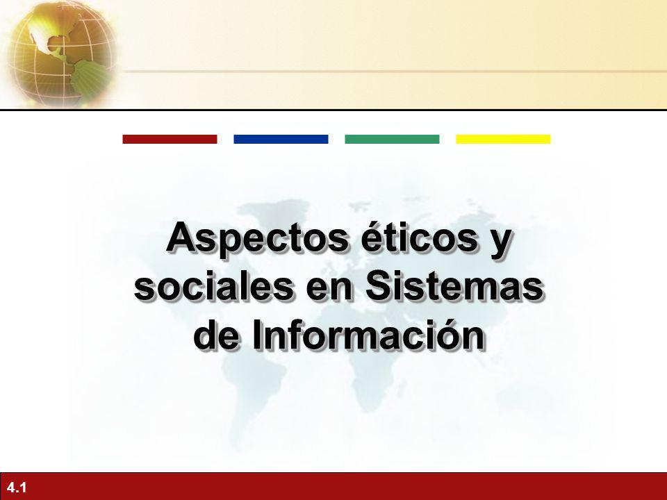 Aspectos éticos y sociales en Sistemas de Información