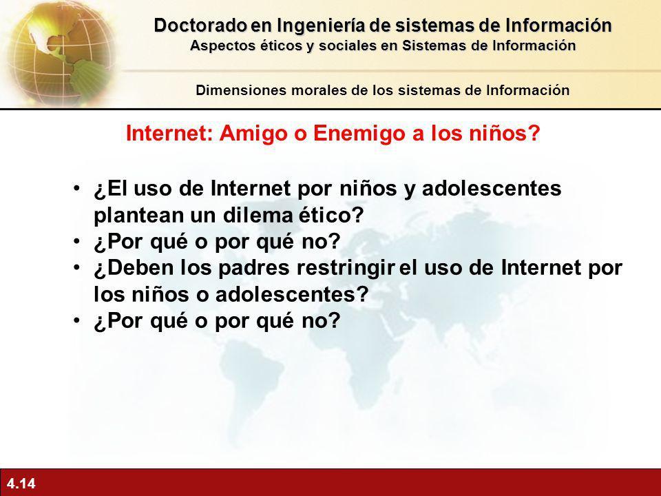 Internet: Amigo o Enemigo a los niños