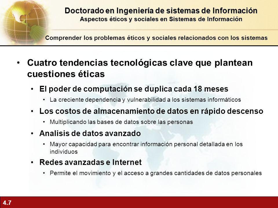 Doctorado en Ingeniería de sistemas de Información