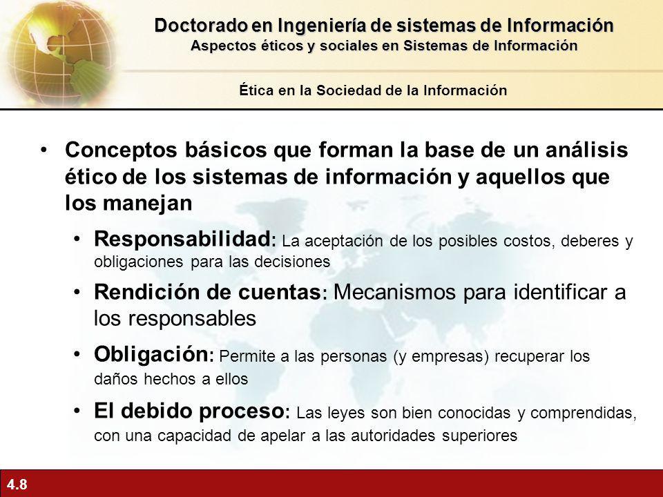 Rendición de cuentas: Mecanismos para identificar a los responsables