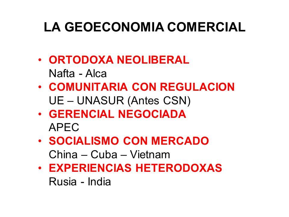 LA GEOECONOMIA COMERCIAL