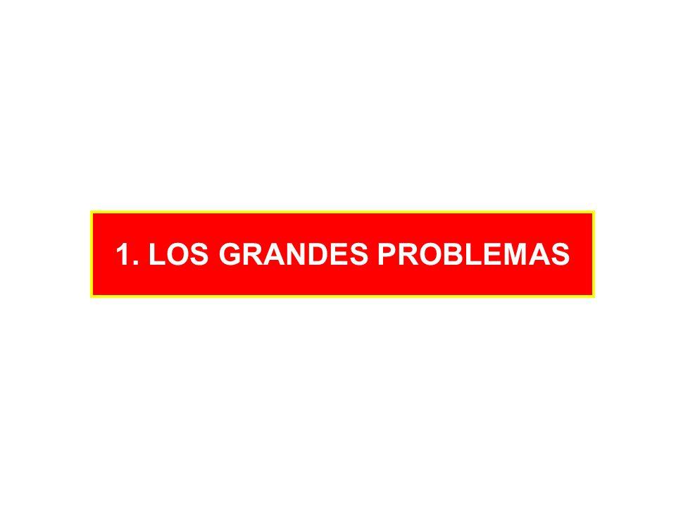1. LOS GRANDES PROBLEMAS